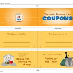 Fun Father's Day Coupons from Spoonful