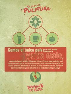 ¡Tres formas de utilizar la yerba mate! :)
