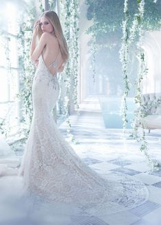 Bridal Gowns, Wedding Dresses by Alvina Valenta - Style AV9463