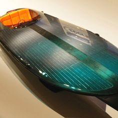 Solar powered speed boat