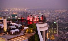 sky bar, asia trip, skybar, beauti bangkok, sirocco, rooftop bar, travel thailand, bar bangkok, place