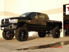 Lifted Dodge Mega Cab... another FAVE!!