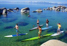 paddleboard tahoe hot springs