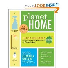 If you've read Alexandra Zissu's other books (hope so!), you'll know that this is the only book you need for making, cleaning and greening the world you care about most...your home!