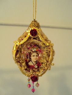 Antique+Victorian+Christmas+Ornament