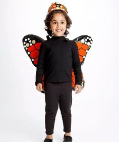 16 Easy DIY Halloween Costumes: Butterfly costume #halloween #costume