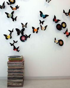 Come riciclare i dischi in vinile