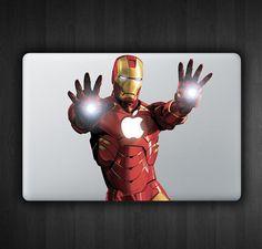 Iron Man Hands Out 13 Macbook Decal Macbook Sticker by SoldforLess, $12.99