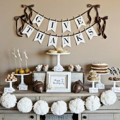 Give Thanks Printable Thanksgiving Collection - ideas