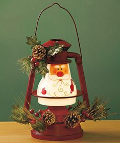 Seasonal Lighted Lanterns - out of stock.  Could I paint it?