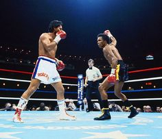 Sugar Ray Leonard vs Roberto Duran