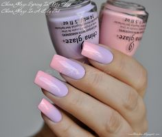 nailbamboo: China Glaze In A Lily Bit + Spring In My Step