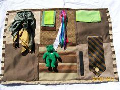 Fidget quilts for Alzheimer,Dementia, Brain Trauma Patients