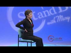 ▶ Sit and Be Fit - COPD Breathing Exercises - Mary Ann Wilson, RN - Emphysema Bronchitis Asthma - YouTube