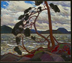 The West Wind (winter 1916-1917) -  Tom Thomson  ...Group of Seven, Canada
