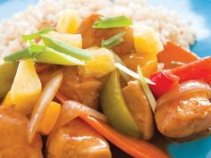 Sweet and Sour Chicken (Gluten Free) .  Visit www.facebook.com/vitalityfocus and www.vitalityfocus.com