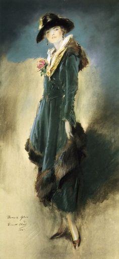 Bonnie Glass by Everett Shinn