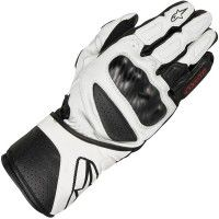 Alpinestars SP-8 2013 Glove - White / Black  - Leather race glove with finger bridge  £65