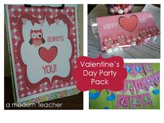 Valentine's Classroom Party! and Freebie too $