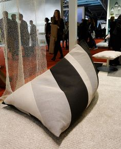 Milano Salone del Mobile 2012: My chair made of surplus fabrics by Woodnotes