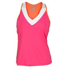 CLICK IMAGE TWICE FOR PRICING AND INFO :) #bra #bras #shelf #shelfbra #shelfbras #womens #intimates  SEE A LARGER SELECTION FOR the shelf bra at http://zwomensbra.com/category/bra-categories/shelf-bra/ -  Lucky In Love Women`s V Neck Racerback Tennis Tank With Shelf Bra Pink Xsmall « Z Womens Bra