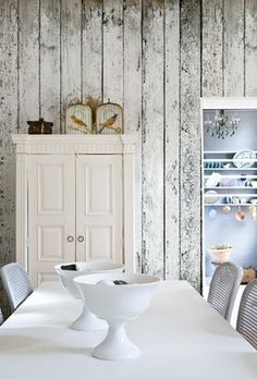 wall deco, white, kitchen nook, boy rooms, wallpapers, little boys rooms, accent walls, wood walls, barn wood