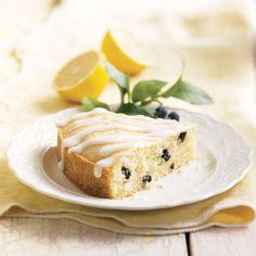 Lemonberry™ Cake & Icing Mix - Plump, juicy blueberries in a moist, lemon-kissed cake.