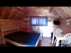 Hot Springs KOA Couple's Sleeping Cabins.  To reserve go to www.hskoa.com.