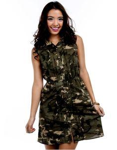 camo dress, dress militari