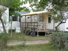 How to Add a Porch to a Trailer Home from eHow.com #porch