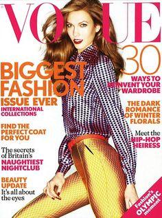 Karlie Kloss on Vogue UK September 2012