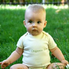 Organic babies...