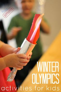 Toddler Approved!: Winter Olympic Activities for Kids