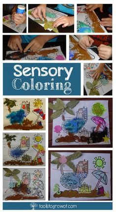 Sensory Coloring Fun! | Blog | Tools To Grow, Inc. www.toolstogrowot.com