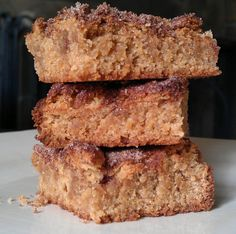Snickerdoodle Brownies Recipe -turns out a little more cakeish than brownie but still good
