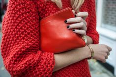 Repin Via: Yoko Only Must for Fall #red