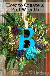 How To Make A Full Wreath