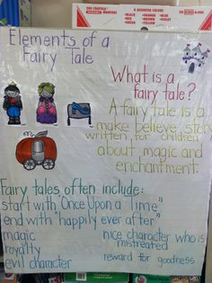 Fairy Tales Unit 6 Common Core