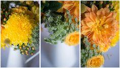 DIY Wedding Wednesday: Rustic Fall Floral Arrangements