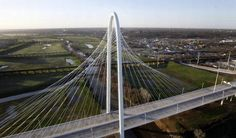 Margaret Hunt Hill Bridge in Dallas