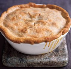 Chicken Vegetable Pot Pie.