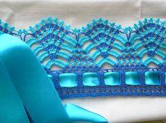 Crochet edging ♥LCE-MRS♥ with diagram. ✿Teresa Restegui http://www.pinterest.com/teretegui/✿
