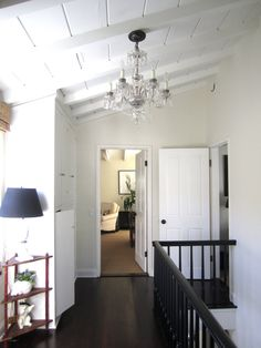 paneled ceiling