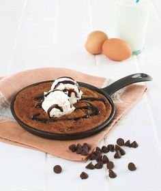 So fun... so yum! Cast Iron Skillet Cookie Kits The Lakeside Collection
