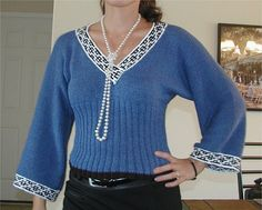Ravelry: #23 Ribbed Waist Top pattern by Gayle Bunn