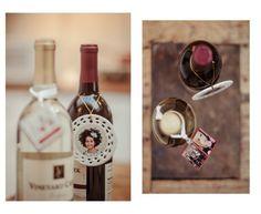 Photo ornaments make great gift tags