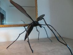 No.8: Patricia Donnelly. Daddy Long Legs. 45x45x45. €1,500