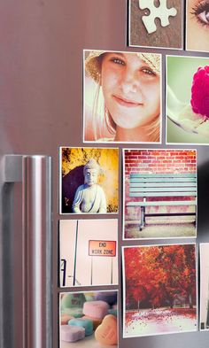 Instagram personalised photo magnets - the best!