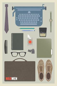Mad Men minimalist poster