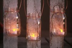 Mason Jar Lantern Lid DIY KitCopper Wire Kit by HeritageTreeSoapCo, $2.99